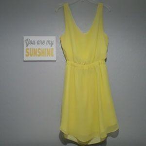 BCBGENERATION LEMON DRESS SIZE S